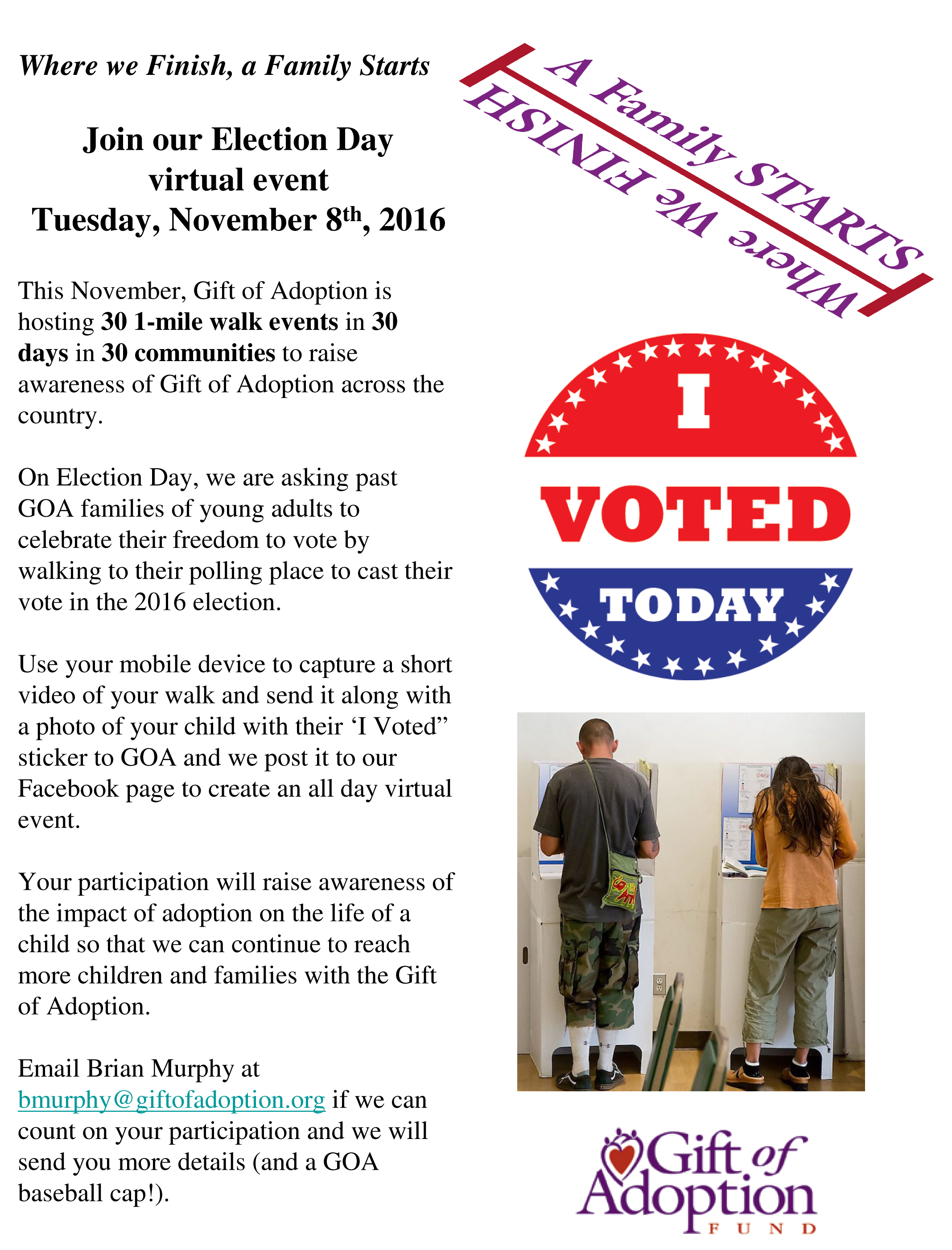 electiondayflyer