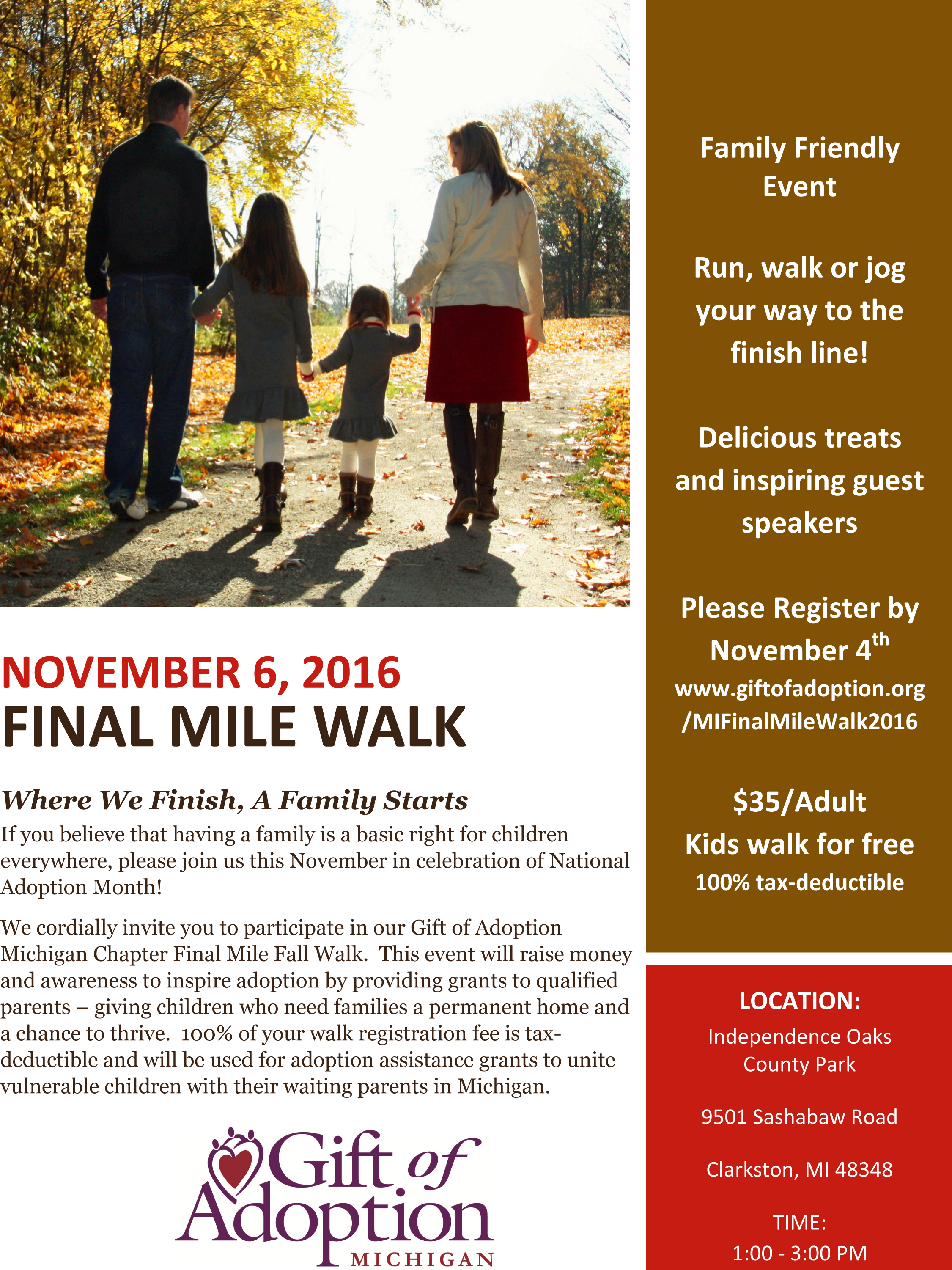 GOA MI Final Mile Walk 2016 Invitation - 080316