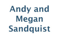 Andy and Megan Sandquist